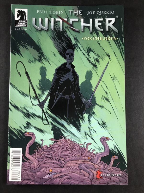 The Witcher Fox Children #2 (of 5) Dark Horse Comics May 2015 VF+ First Print