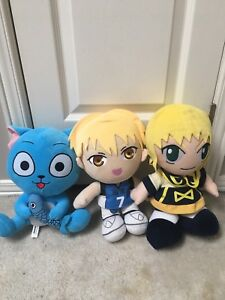 Assorted Anime Plushes High Quality