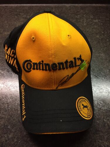 Rare Autographed Jeff Gordon Rolex 24 podium hat with COA! NASCAR IMSA WTR