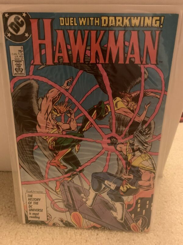 Hawkman (1986) #8, VF