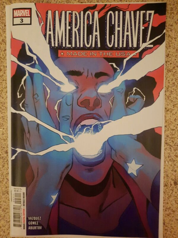 America Chavez Made in the USA #3 1st Full Appearance of Catalina NM MARVEL 2021