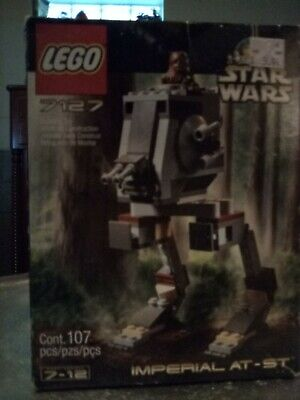 LEGO Star Wars #7127 Imperial AT-ST, 2001, Includes Chewbacca, New Sealed