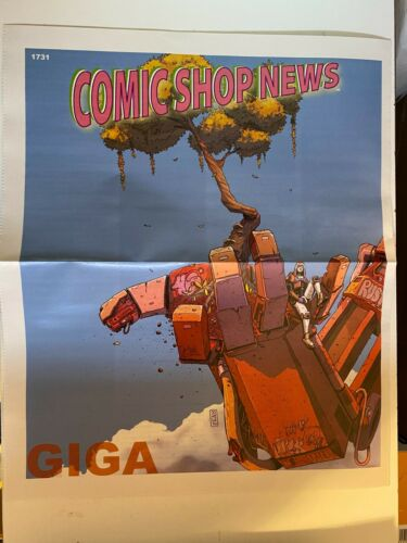 COMIC SHOP NEWS #1731 (2020) NM GIGA ART BY JOHN LE, VAULTCOMICS, PROMO