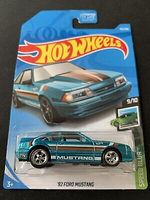 2019 HOT WHEELS '92 FORD MUSTANG SUPER TREASURE HUNT W/PROTECTOR