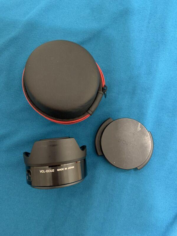Sony VCL-ECU2 Wide Angle Converter lens - USE.
