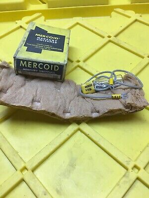Mercoid 9-5107sa Mercury Control Switch New