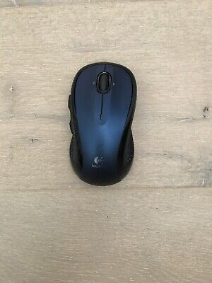 Logitech M510 Wireless Laser Mouse with No Unifying Receiver Blue And Gray