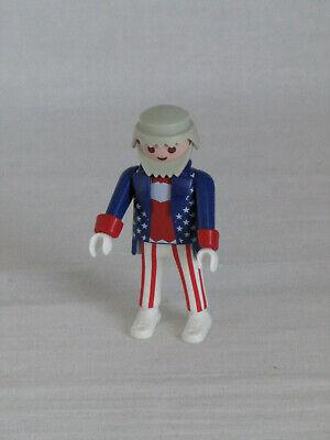 Playmobil Figur Uncle Sam mit Kragen und Bart