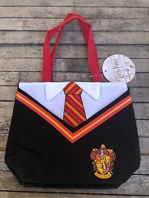 Hogwarts School Uniform Tote Bag Hermione, Harry Potter,Tote Bag (Red and - Hermione Bag