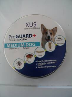 FLEA AND TICK COLLAR - DOG AND CAT - 4 SIZES - WATERPROOF