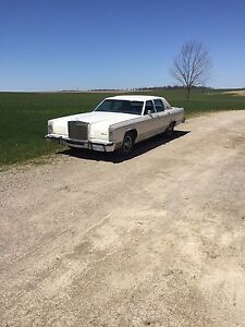 1979 Lincoln continental safetied