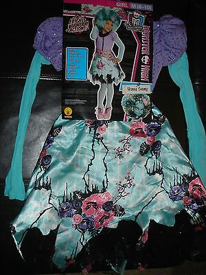 NEW Monster High Honey Swamp Halloween Costume girls M 8/10 Rubies - Monster High Costum