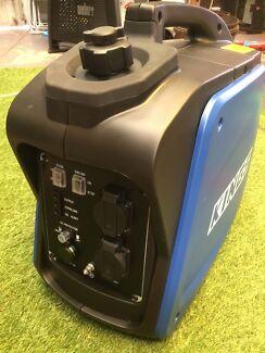 2kva 4 stroke generator  runs 240v power anywhere