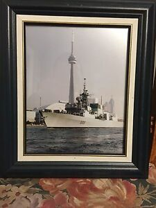 Framed HMCS Toronto Picture