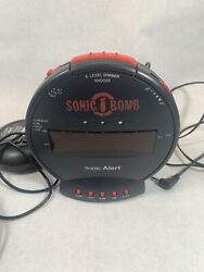 Sonic Boom Loud Plus Vibrating Alarm Clock