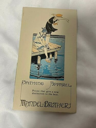 Vintage Mandel Brothers Bathing Apparel Catalog