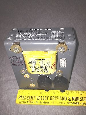 Vintage Used Lambda Regulated Power Supply - Model Lns-z-12 - Untested -vgc