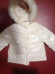 Gymboree beautiful white stain proof coat