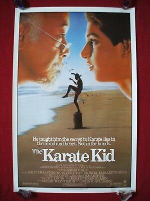 THE KARATE KID * 1984 ORIGINAL MOVIE POSTER MR. MIYAGI COBRA KAI HALLOWEEN C9 - The Halloween Kid Movie