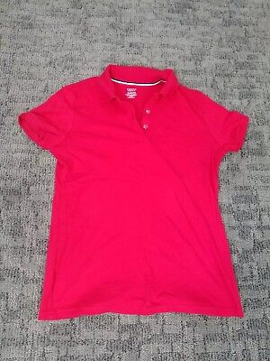 New French toast Red Polo school uniform. Size XL (18/20p)