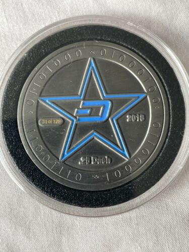 Genesis LOADED Crypto Coin 31/125 Unused 0.25 Dash INVESTMENT BTC LTC ETC