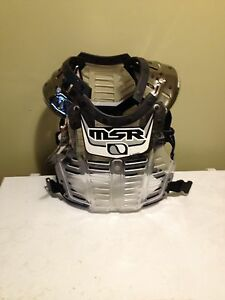New MSR Chest Protector Tags still on it.