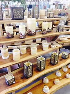 Stunning alabaster (marble) vases and holders