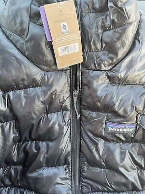 Patagonia Mens Micro Puff Jacket - Black - MEDIUM