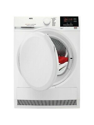 AEG T7DBG860N 8kg Load Heat Pump Tumble Dryer - White