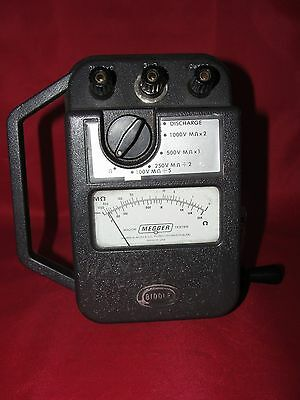 James G. Biddle Co. 21159 Major Megger Tester