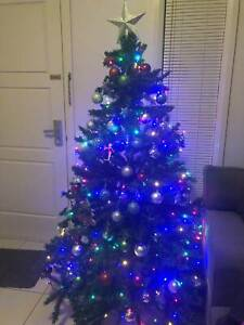 Large Christmas tree in box - sold pending pickup