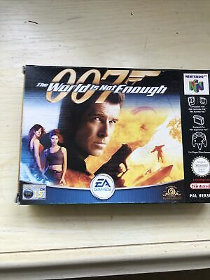 *VGC* 007: The World is Not Enough - Nintendo 64 N64 - Complete CIB Boxed PAL