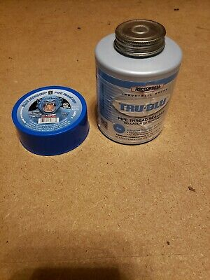 Blue Monster Teflon Tape 1x1429 Rectorseal Trublu Thread Sealant 1 Pint