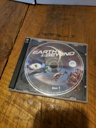 Earth & Beyond (PC, 2002) DISCS ONLY - CD-ROM - EA Games - Authentic - Game Only