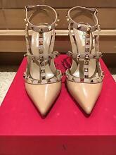 Valentino Rockstud Shoes sling back Patent Skin Sorbet Sz 39 Applecross Melville Area Preview