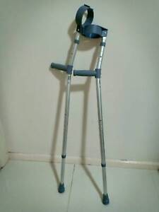 Crutches like new, only used for two weeks, adjustable. $25