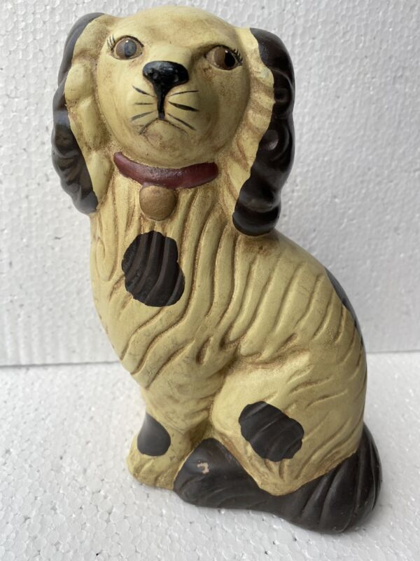 Chinese Puppy Dog Figurine Statue Resin Door Stop~ Weighted