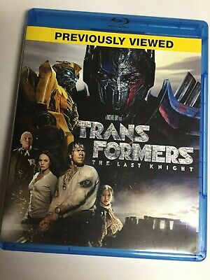 Transformers: The Last Knight (Blu-ray, 2018) Mark Wahlberg, Not a Scratch! USA!