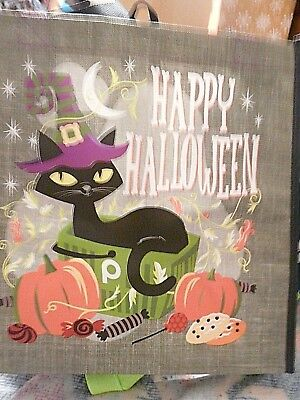 Publix Halloween Cat Happy Halloween reusable shopping bag, NWT](Halloween Shopping)