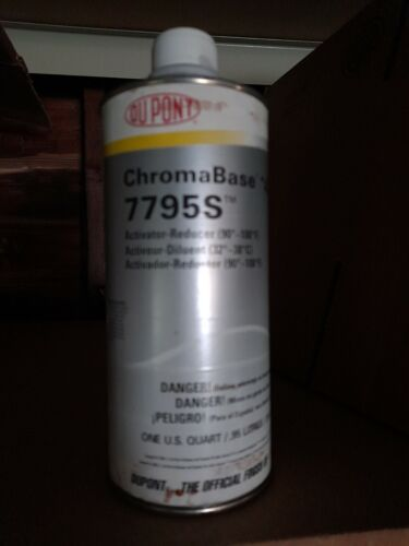 Dupont Chromabase 7795s activator quart 90-100 degree