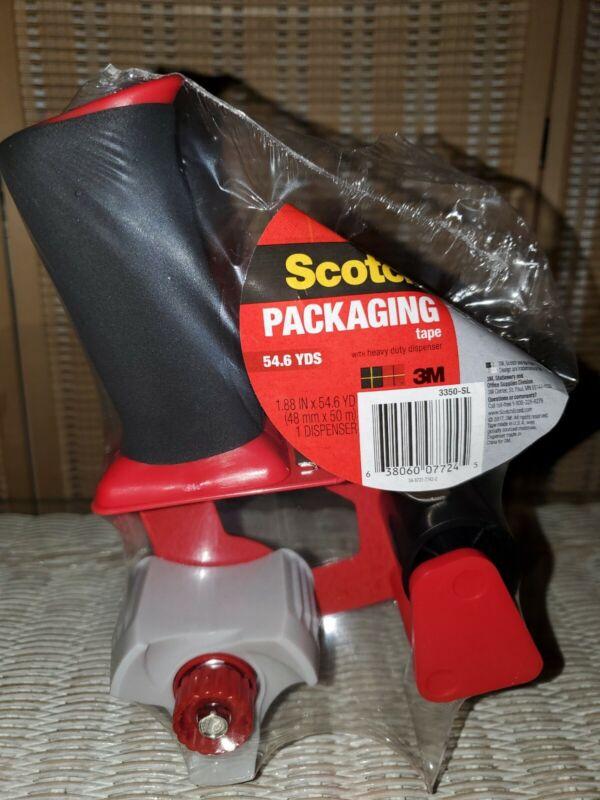 "New & Sealed! Scotch 3M Heavy Duty Packaging 2"" Tape Gun Dispenser - 3350-SL"