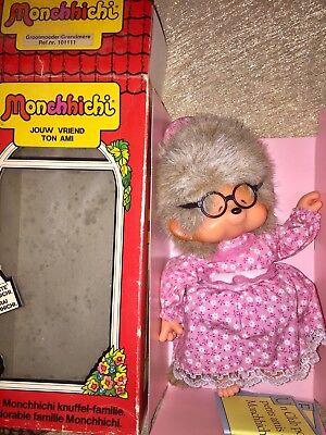 Sekiguchi MONCHHICHI Figur OMA Grandma Monchichi OVP *Rarität* #z215