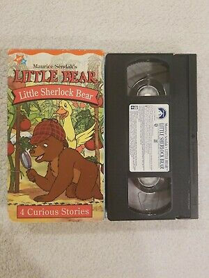 Little Bear ~ Little Sherlock Bear ~ 4 Curious Stories ~ VHS (2001, Nick Jr.)