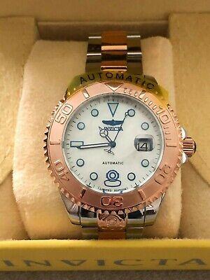Invicta 47mm Grand Diver 3 15th Anniversary LE Rose-Tone  Automatic MOP