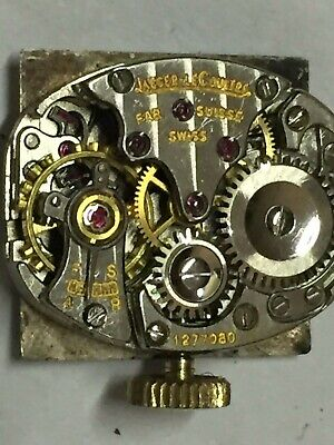Vintage Jaeger le Coultre (1940-1950) Lady Watch Movement Working