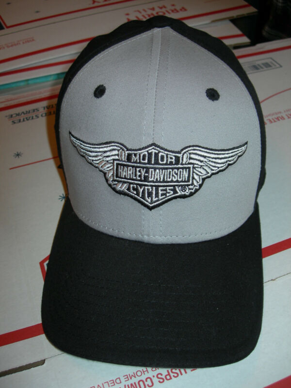 New Old Stock - Harley Davidson Ball Cap Hat Fitted Stretch S/M