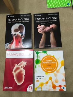 Year 11 & 12 text books