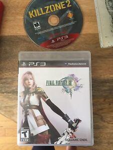 Final Fantasy XIII & Killzone 2
