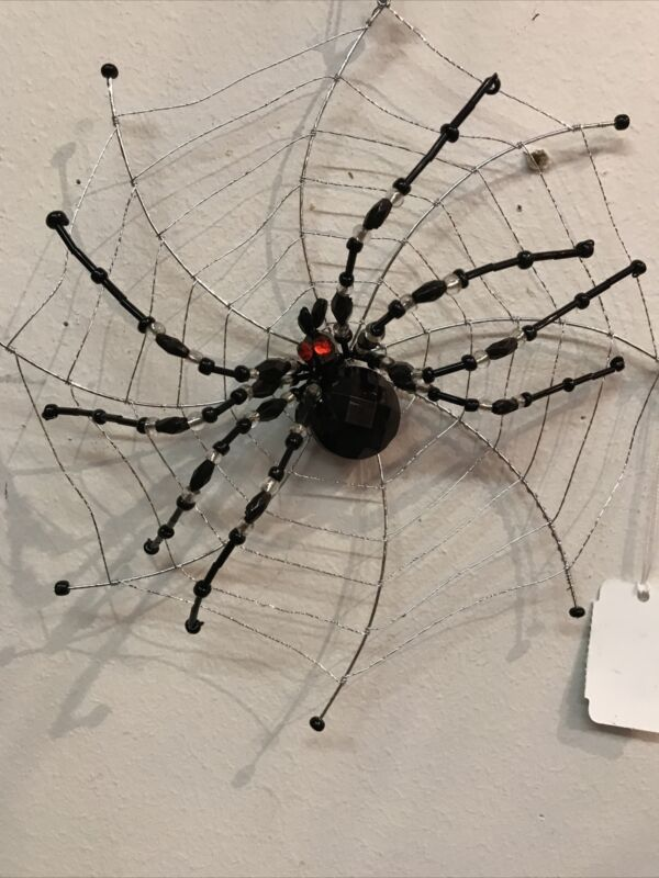 Katherine's Collection Spider On Web Ornament