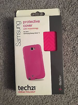T-Mobile Protective Cover w/ Impactology D30 for Samsung Galaxy Note II 2 (Pink)